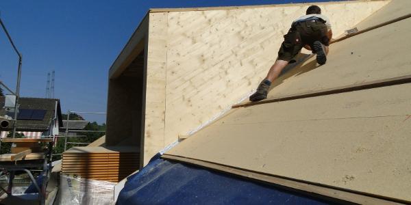 Lukarnenelement auf's Dach